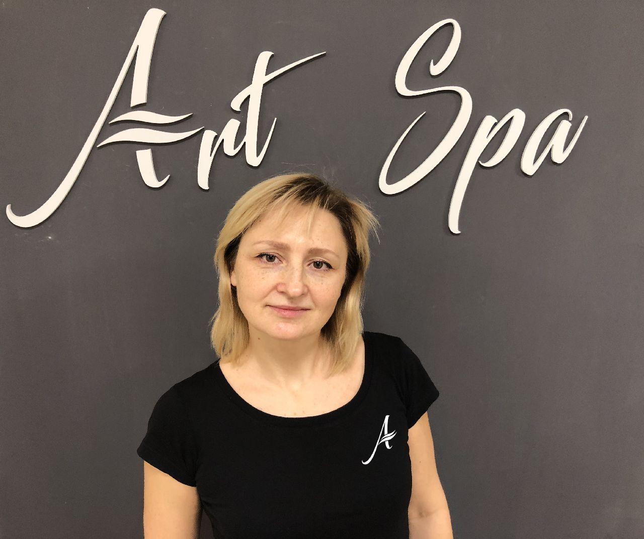 Ирина - мастер по массажу | Спа центр «АРТ SPA»